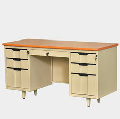 Locker Base Steel Office Furniture Multifunctional 6 Drawer Computer Desk