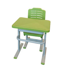 Learning desks and chairs for students of steel office furniture school
